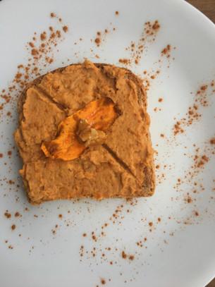 Maple Sweet Potato Hummus