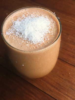 Chocolate Coconut Frappe