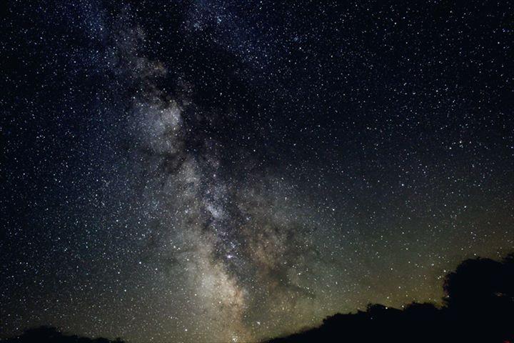 Milkyway, Canon T3i,