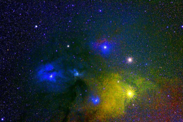 The Antares Region, Canon T3i, Nikon 180