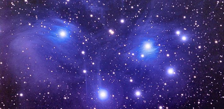 M-45 The Pleiades (Seven Sisters)