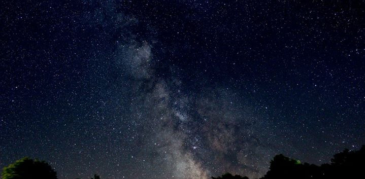 A 60 sec. Image of the Milky Way