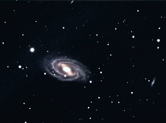 M-109 (NGC 3992) Barred Spiral Galaxy in