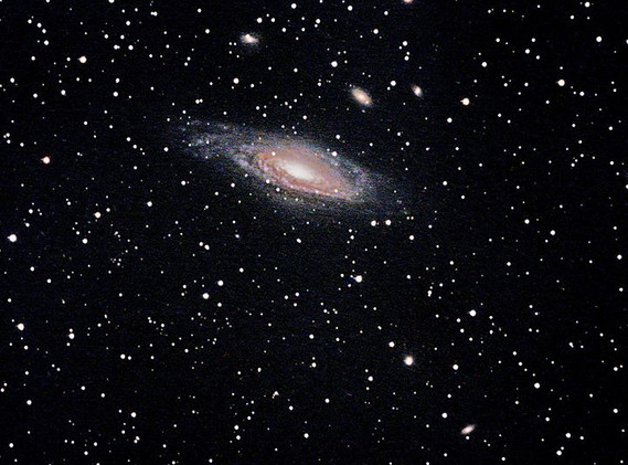 NGC 7331, Caldwell 30 Galaxy Group is lo