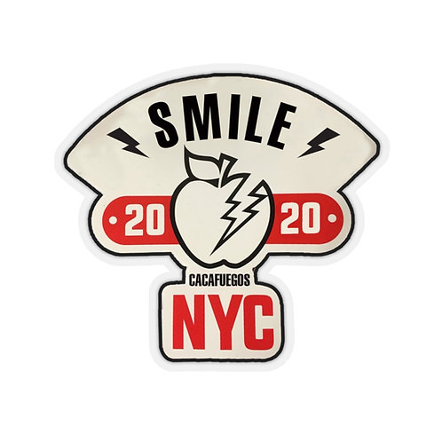 Smile NYC - Kiss-Cut Stickers