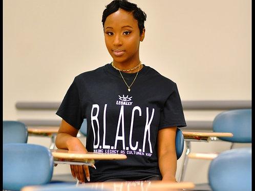 Legally B.L.A.C.K. T-shirt Black