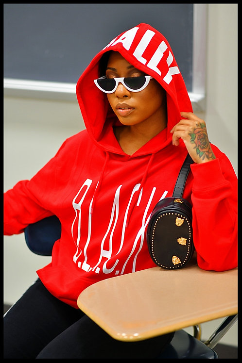 Legally B.L.A.C.K. Hoodie Red