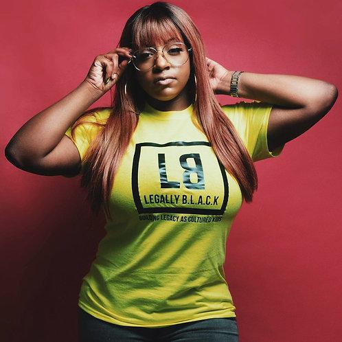 Legally B.L.A.C.K. T-shirt Lime