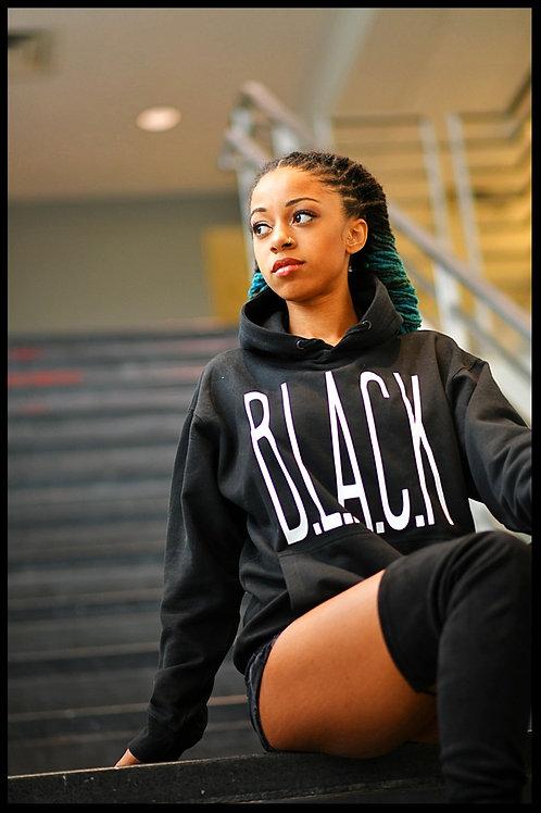 Legally B.L.A.C.K. Hoodie Black