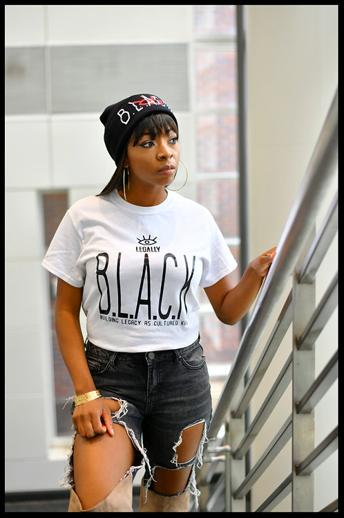 Legally B.L.A.C.K. T-shirt White