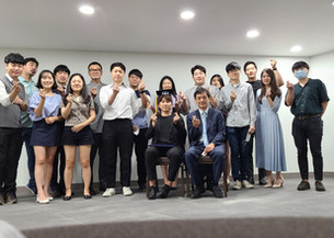 Farewell party for Tae-jun Lee