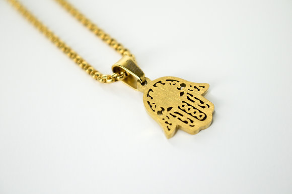SAN BENITO HAMSA HAND (SMALL) GOLD