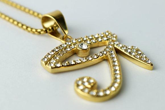 DIAMOND EYE OF RA GOLD (LARGE)