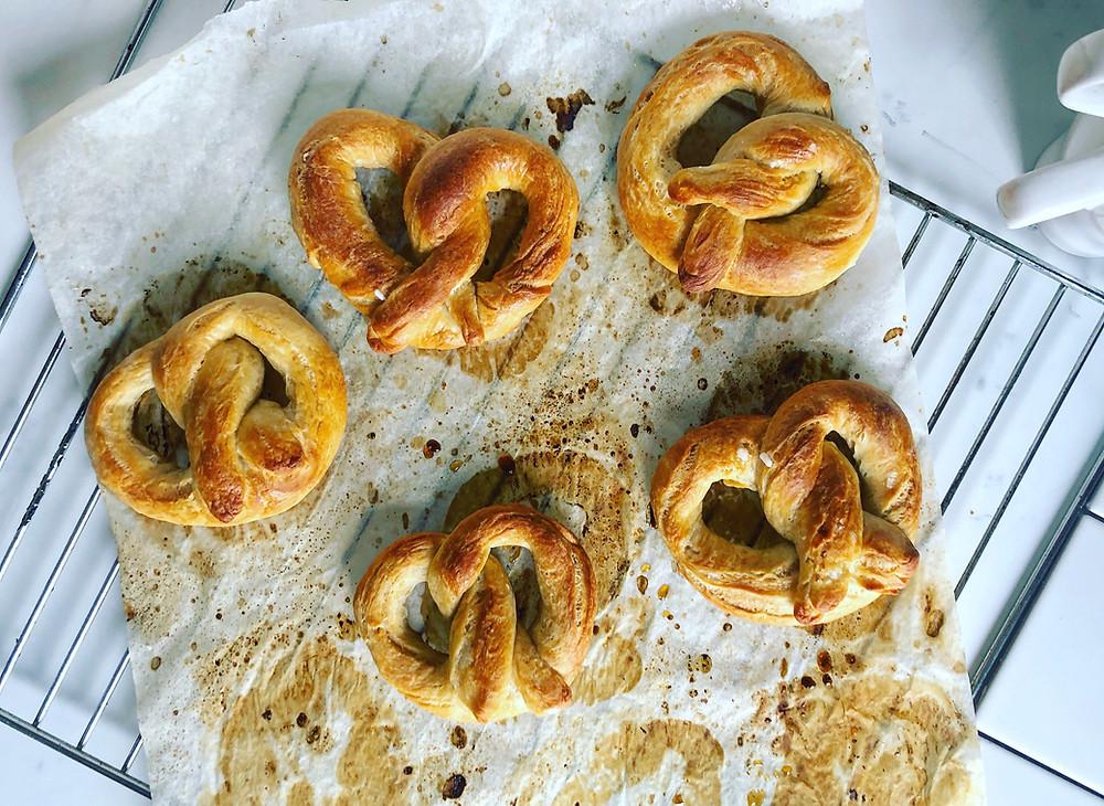 pretzel ricetta semidolci brunch
