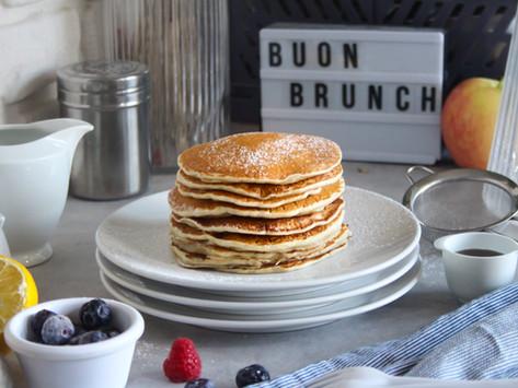 Pancake senza uova: la ricetta facile e veloce