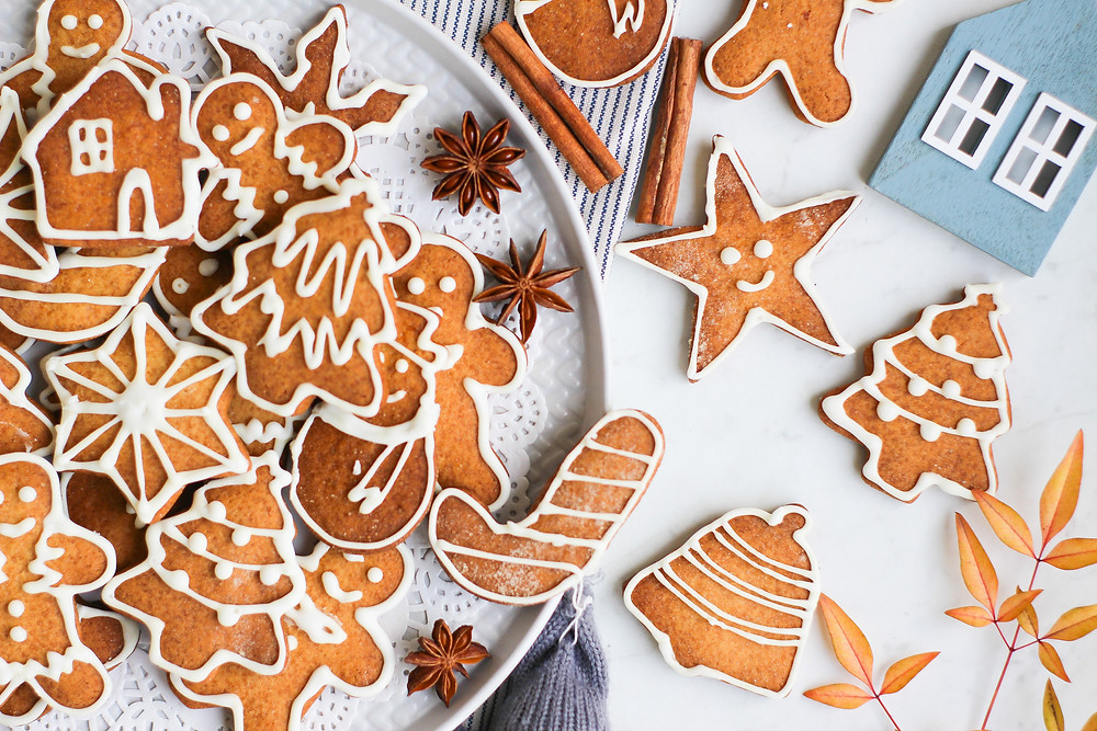 gingerbread cookies ricetta recipe facile natale zenzero