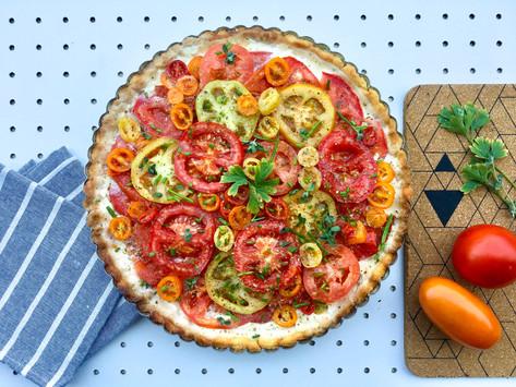 Tarte ai pomodori: la ricetta facile e veloce per veri pumma-lover