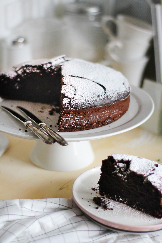 torta cioccolato semplice soffice morbida
