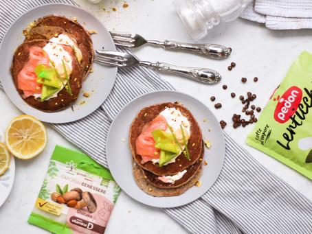 Pancake proteici yogurt e lenticchie: la ricetta facile