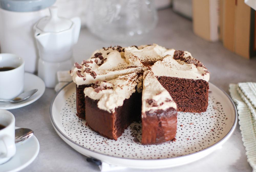 torta cioccolato caffè brunch ricetta