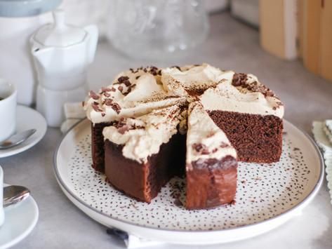 Torta caffè e cioccolato: la ricetta facile facile
