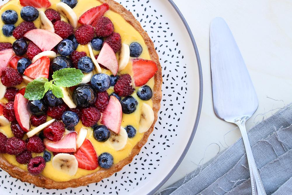 crostata di frutta con gelatina ricetta facile brunch buonbrunch