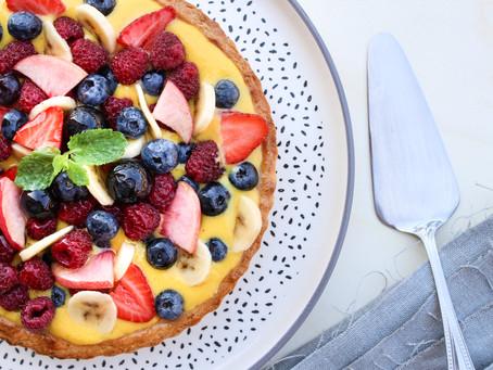Crostata di frutta (con gelatina): la ricetta classica