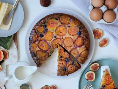 Torta di fichi freschi soffice: la ricetta facile e veloce