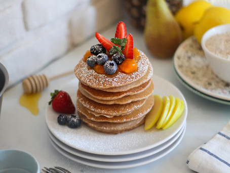 Pancake integrali senza uova: la ricetta facilissima
