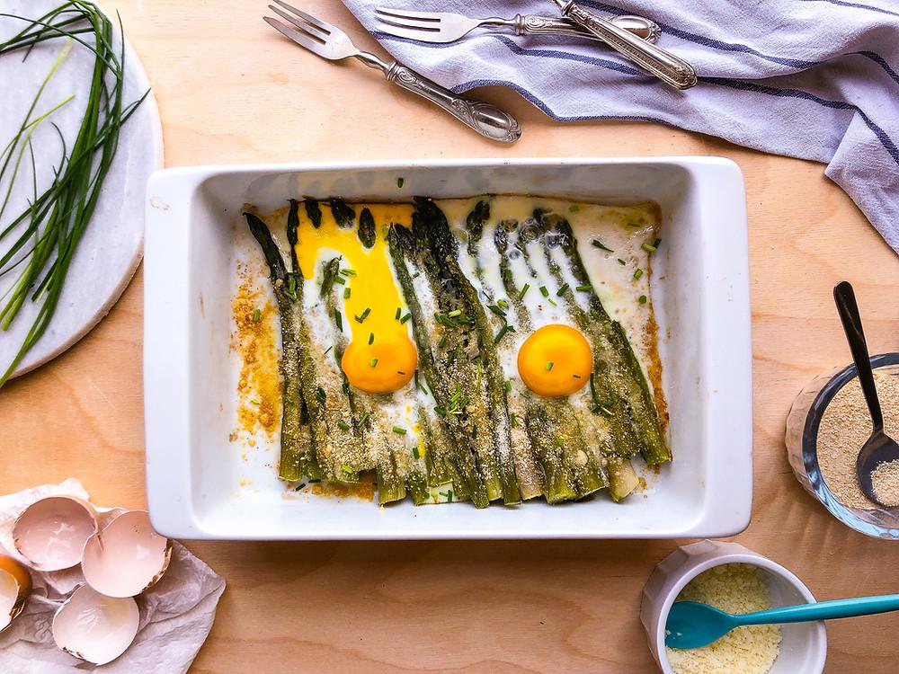 asparagi bismark uova ricette brunch buonbrunch