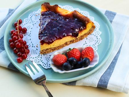 Cheesecake (bassa) all'italiana: la ricetta facilissima