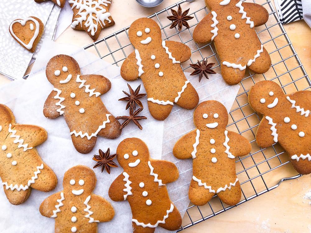 gingerbread cookies biscotti al pan di zenzero Natale