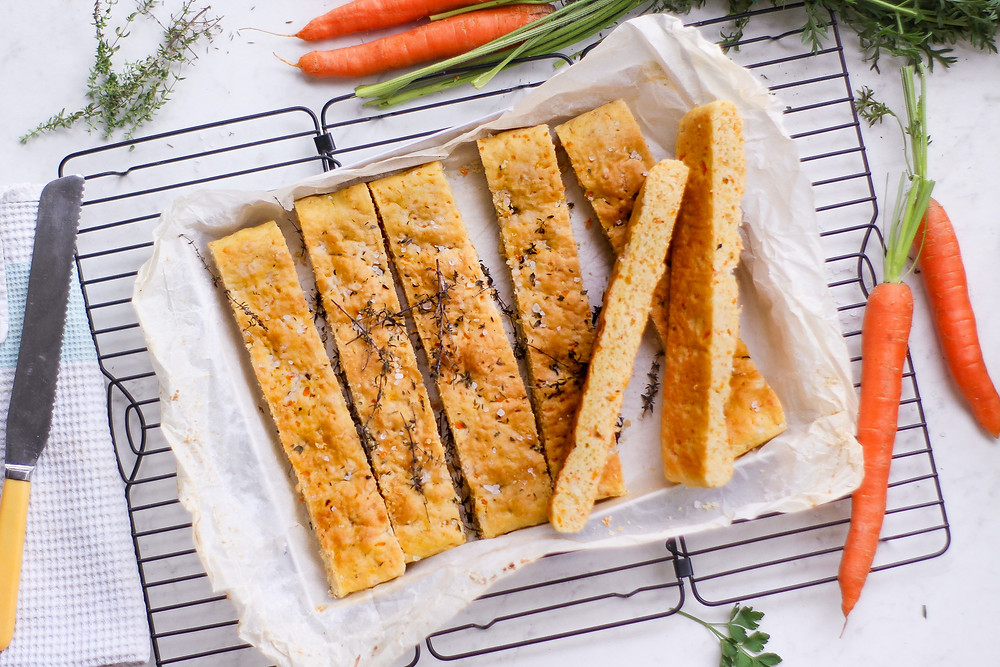 focaccia morbida alle carote light recipe carrot focaccia brunch