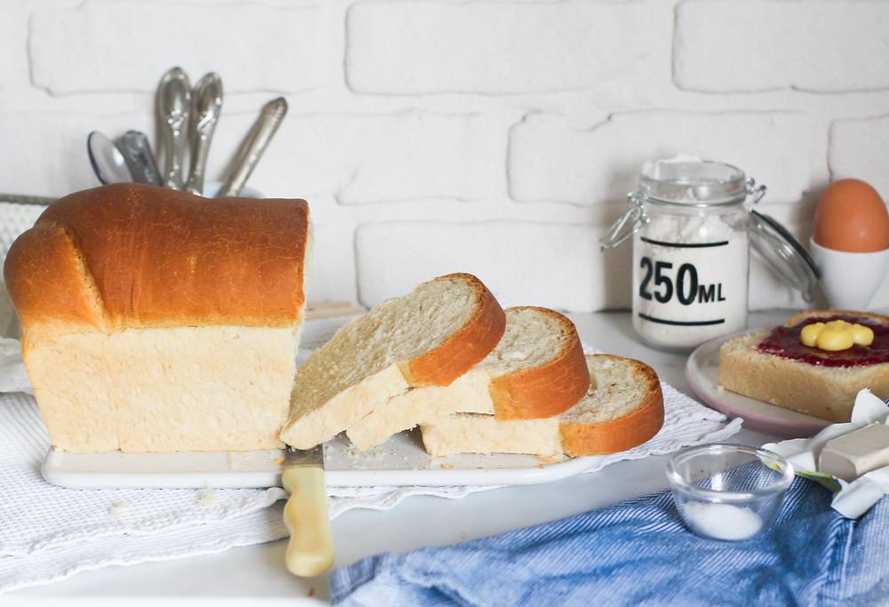 Pane da sandwich ricetta pan bauletto brunch
