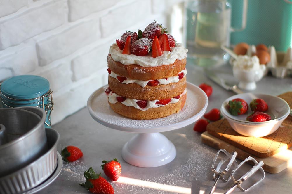 Victoria Sponge Cake ricetta inglese classica
