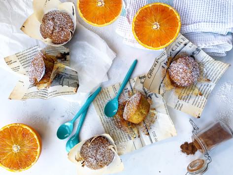 Muffin speziati all'arancia: ricetta super veloce!