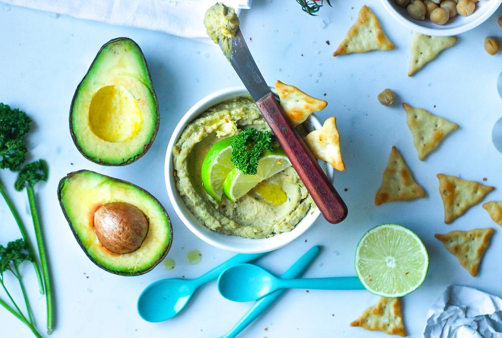 ricetta hummus avocado brunch buonbrunch