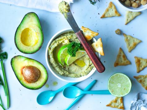 Hummus di avocado: la ricetta facile e veloce
