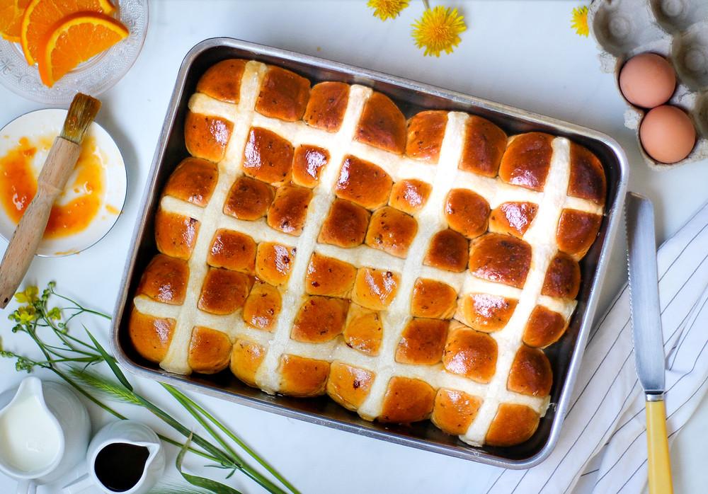 hot cross buns storia e ricetta originale inglese