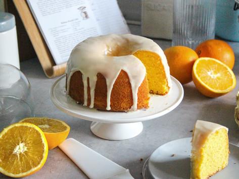 Orange pound cake: la ricetta originale inglese