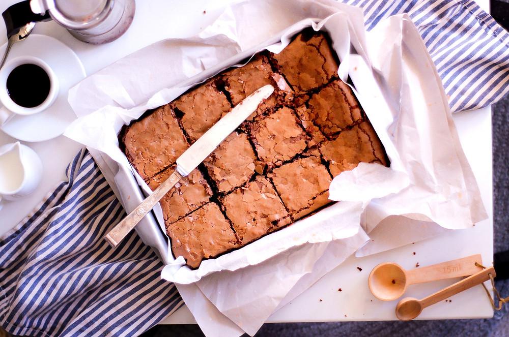 brownie senza glutine ricetta cioccolato e caffè
