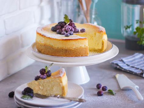 Kasekuchen: la ricetta originale della cheesecake tedesca (con formaggio Quark)