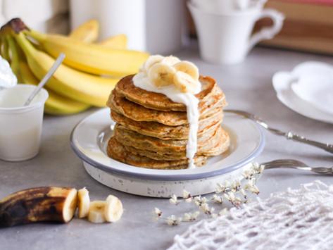 Pancake light alle banane: la ricetta facile e veloce