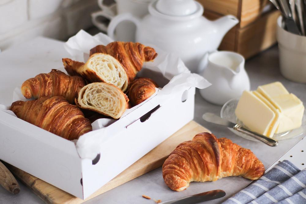 croissant francesi sfogliati ricetta facile