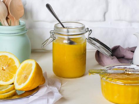 Lemon curd: la ricetta originale della crema al limone