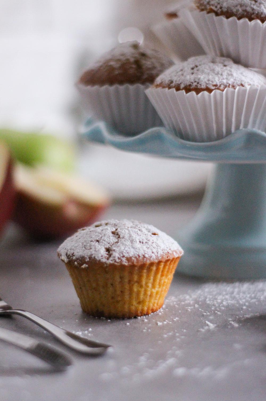 muffin mele e zucca ricetta facile