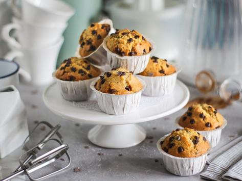 Muffin con gocce di cioccolato: la ricetta facilissima