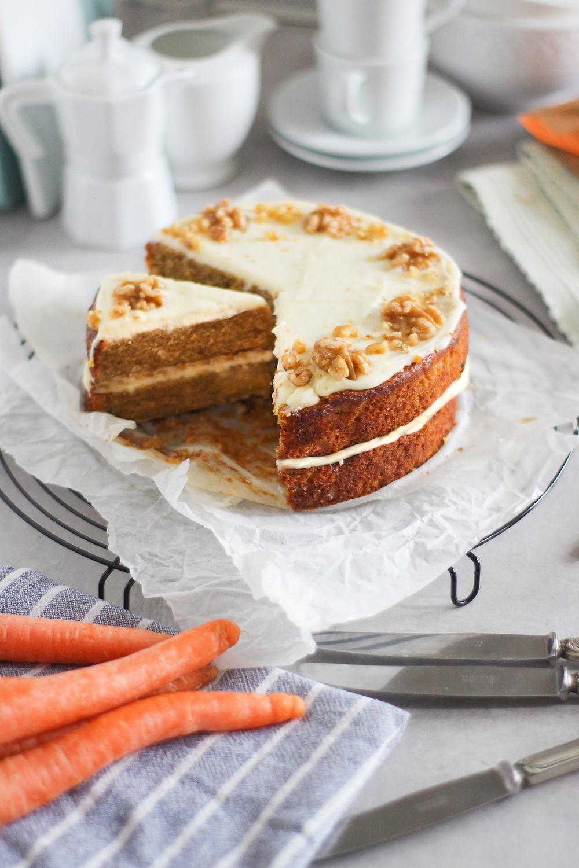 carrot cake ricetta torta di carote americana