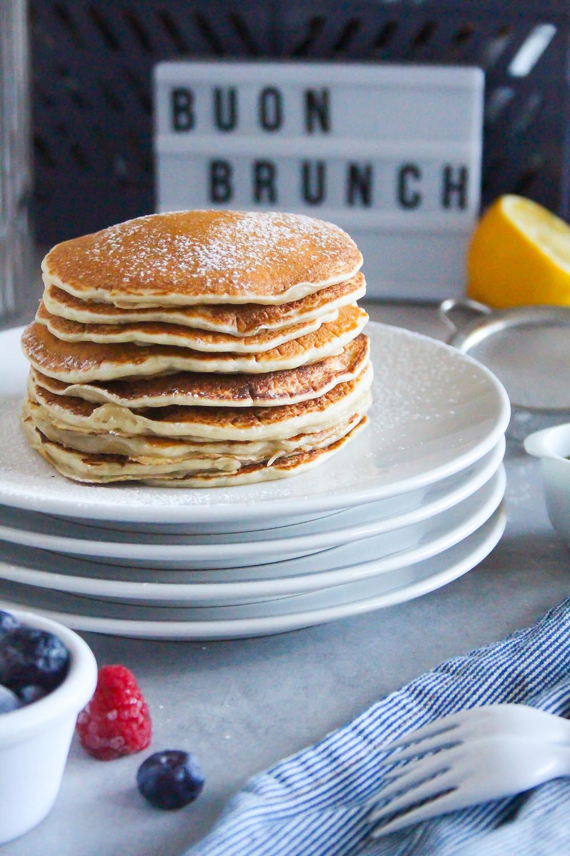 pancake senza uova ricetta facile veloce