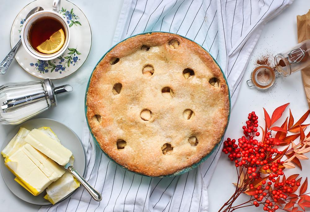 english apple pie torta di mele inglese ricetta originale